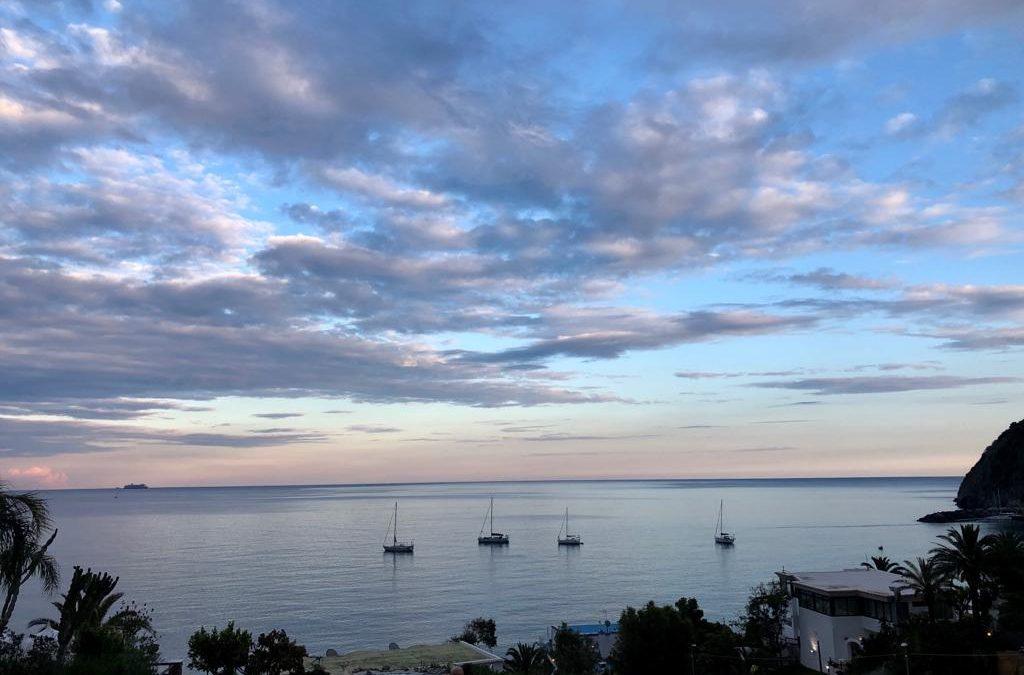 Západ Slunce Ischia