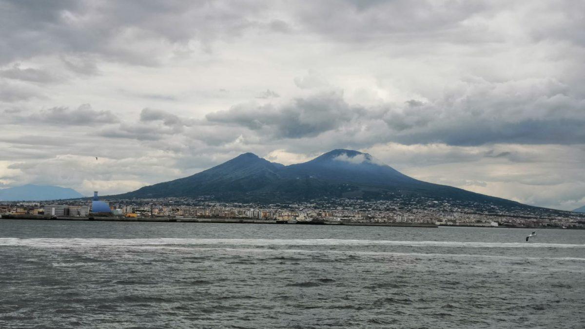 Vesuv, dovolená v Itálii