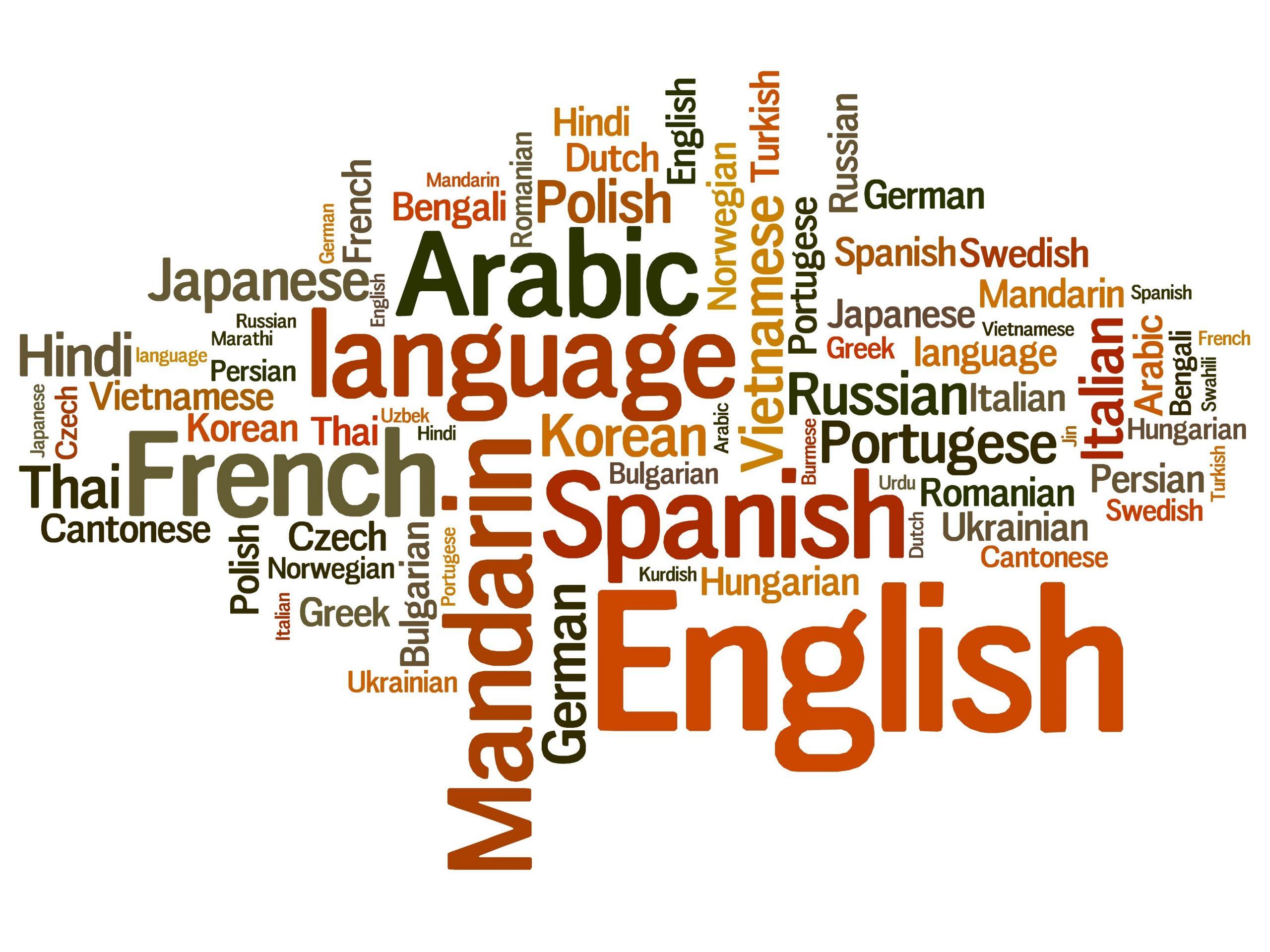 Jazyky dovolená